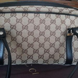 Gucci twins GG Boston Bag